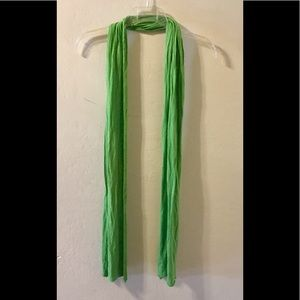 Make offer-Michael Stars lime green scarf